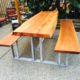 custom furniture - live edge wood tables