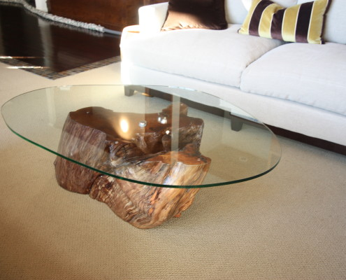 Jabot Interiors Vancouver Custom Furniture driftwood table